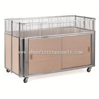 Chrome Foldable Promotion Cart GST-045