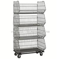 Chrome Stacking Wire Basket GST-186A