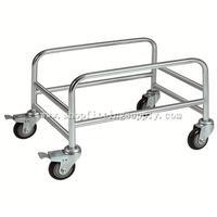 Chrome Metal Basket Holder GSB-033A