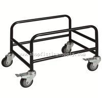 4 Wheels Metal Basket Holder GSB-033B