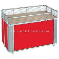 Chrome Foldable Promotion Cart GST-043
